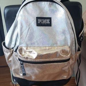 VS Pink Metallic backpack